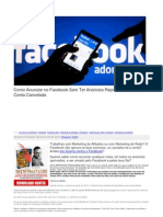 Como Anunciar No Facebook Sem Ter Anúncios Reprovados Nem a Conta Cancelada