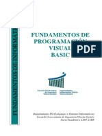 Fundamentos de Programacion Visual Basic