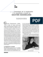 la fenomenolog{ia de la ensoñaci{on gaston bach