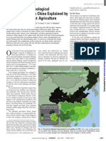 Talhelm Et Al (2014) - Large-Scale Psychological Differences Within China Explained by Rice vs Wheat Agriculture