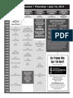 Grey Fox 2015 Schedule