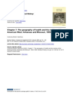 Chapter 7 the Geography of Health and the Making of The