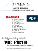 Vic Firth - Rudiment Sequence2