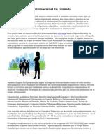 Master Comercio Internacional En Granada