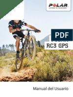 Manual Pulsometro Polar RC3 GPS