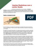 Crie Renderizações Realísticas com o Autodesk Inventor Studio