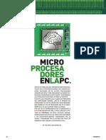 Microprocesadores en La PC