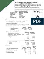 Soal UTS Genap 2014-2015 Ismet