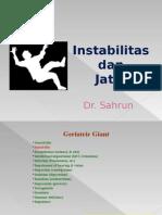 Instabilitas Dan Jatuh