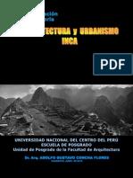 Arquitectura y Urbanismo Inca