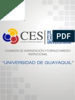 Plan de Excelencia Universidad de Guayaquil-difusion
