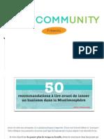 50 recommandations à lire avant de lancer un business dans la Muslimosphère