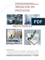 Optimizacion en Procesos Industriales