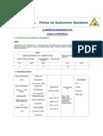 Ficha Quimica Cloruro de Hidrogeno