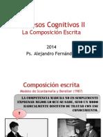 9ª Clase - 2014 - La Composición Escrita