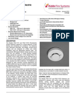 Detector 70-02 - Photo Smoke Detector Model CPD-7157 - 2010