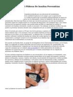 Estudio Averigua Si Pildoras De Insulina Prevendrian Diabetes