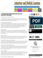 10 teaching practices for the 21st century teacher ~ educational technology and mobile learning