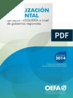 Fiscalización Ambiental del sector Pesquería a nivel de gobiernos regionales