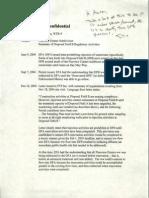 2005 Undated Enforcement Memo Disposal Field A Pine View Estates