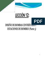 Diseño de Bombas y Estación