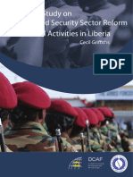 Mapping Study of Gender and Security Sector Reform Actors and Activities in Liberia, ed. Anike Doherty and Aiko Holvikivi (Geneva