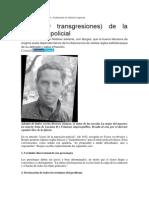 Artículo de Martinez Sobre Policial ADN La Nación