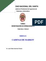 Dr. Juan Sanchez Cadena de Markov