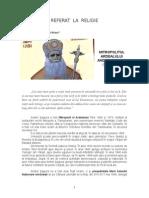 Mitropolitul Andrei Saguna - referat