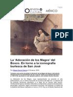 GARCÍA GARCÍA, Alegra - La 'Adoración de Los Magos' Del Bosco. en Torno a La Iconografía Burlesca de San José (Mito. Revista Cultural Nº.19 Marzo 2015)