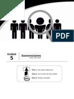 Peace m3 u5 Lectura PDF Exoneraciones Bn