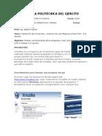 Informe de Instalacion Del Virtual Box