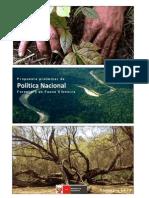 Politica Nacional Forestal