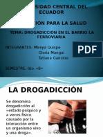 PRESENTACION SOBRE DROGADICCION