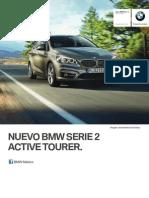 Ficha Tecnica BMW 220iA Active Tourer Automatico 2016