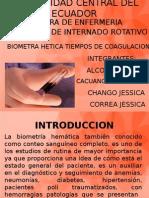BIOMETRIA HEMATICA TIEMPOS.pptx