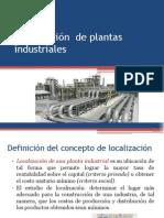Localización y Tamaño de Plantas Industriales