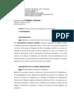 Sentecia de La Corte Superior- Alejadro Agurto Flores