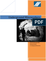 Underground Mineworker guide lines