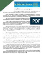 july08.2015 bCommunity Kabuhayan program proposed