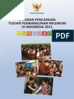Laporan Pencapaian Tujuan Pembangunan Milenium Di Indonesia 2011