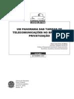 Tarifas de Telecomunicações Até 2005