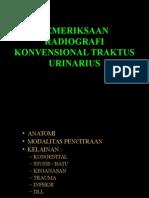 Pemeriksaan Radiografi Konvensional TUR Revisi
