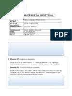 Informe Prueba Piagetana