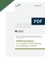 Cs Family Governance White Paper