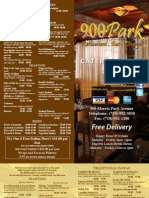 Park Catering Booklet