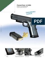 Pistola 40 MD6 IMBEL