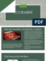 Efemerides de noviembre