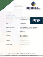 Brochure Inproser j&m Sac