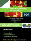 Cl 2 - Reconocimiento Antigénico 2